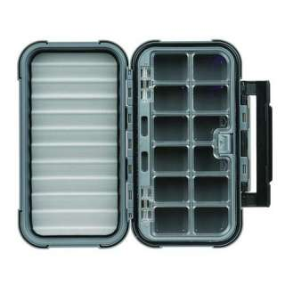 Flambeau Blue Ribbon Large Fly Box with Twelve Compartments Bags