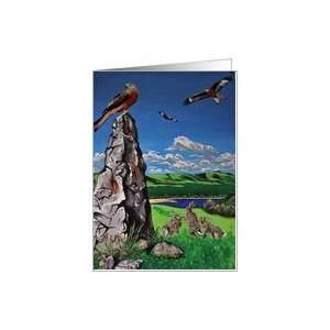 good luck   Red Kites of Wales Card Health & Personal