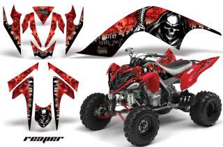 AMR RACING GRAPHIC WRAP OFF ROAD DECO ATV STICKER KIT YAMAHA RAPTOR