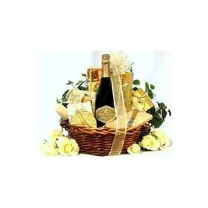 Wedding Wishes Sparkling Wine Gift Basket   Iron Horse